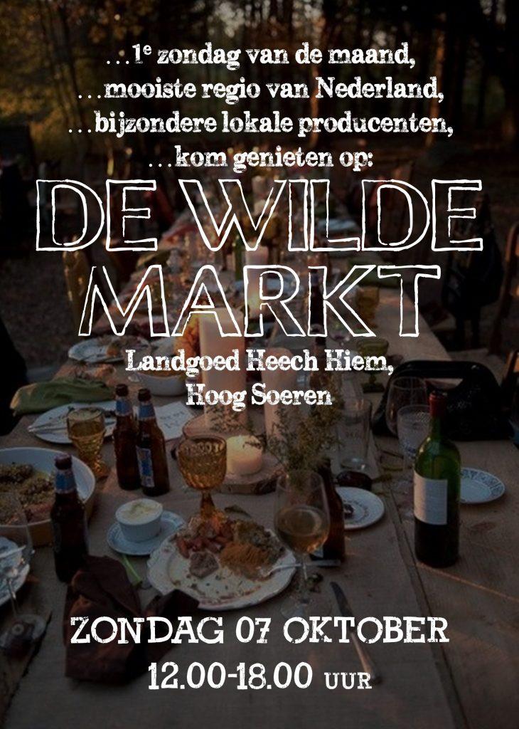 Flyer Wilde Markt