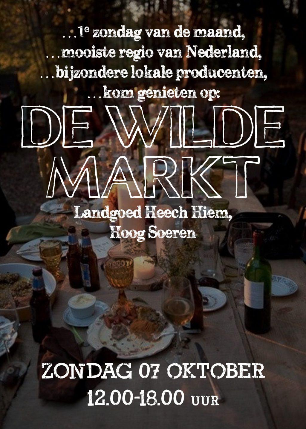 Nieuw: De wilde markt