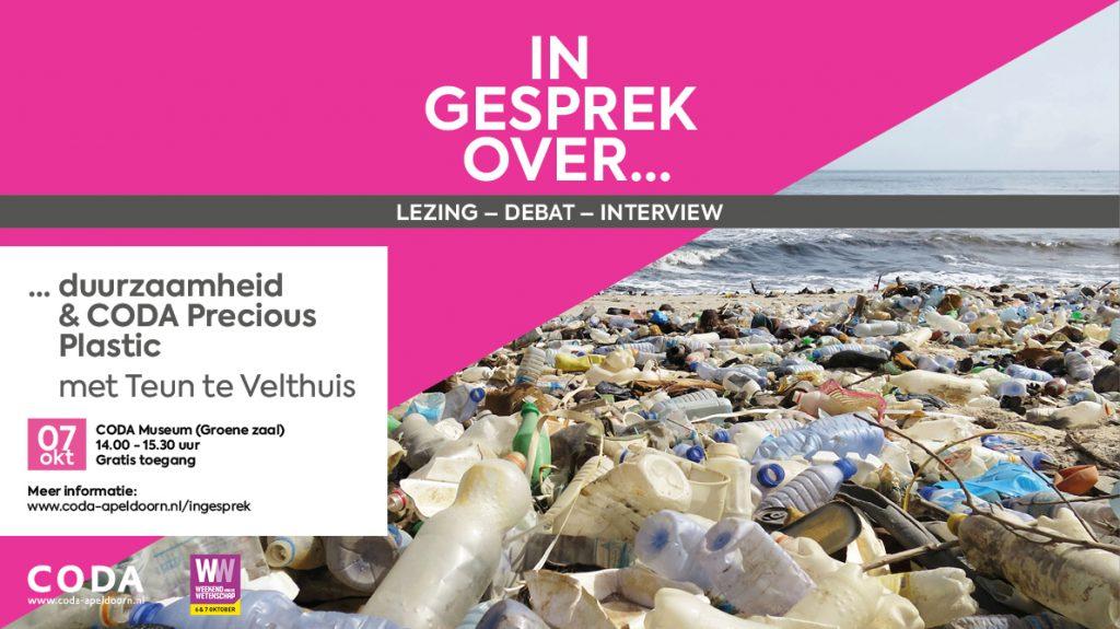 Teun te Velthuis vertelt in CODA over duurzaamheid en CODA Precious Plastic