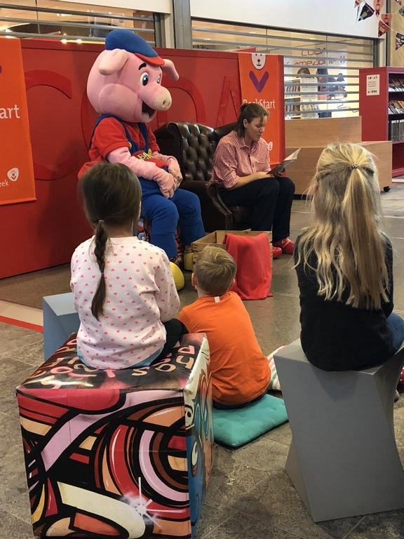 Kinderboekenweek Feest dok Zuid zeer geslaagd!
