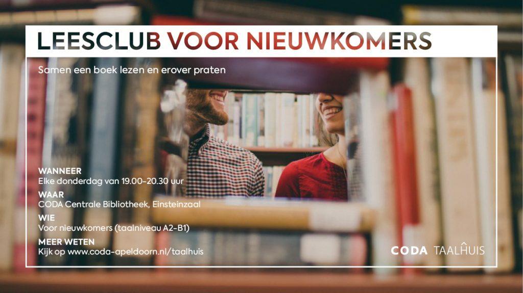 Leesclub in CODA Taalhuis voor nieuwkomers