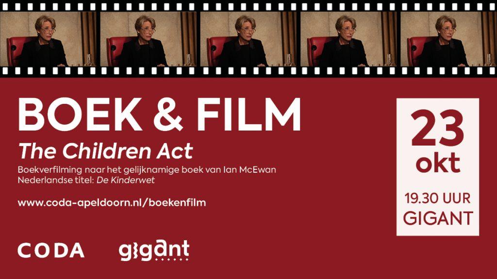 The Children Act eerste film in nieuw seizoen Boek & Film