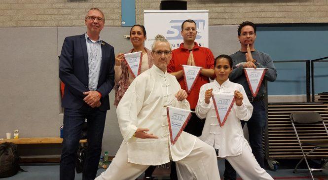 Apeldoornse Shaolin school pakte zilver op Open Tai Chi NK 2018