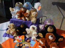 Knuffelberen verkoop voor KiKa in Gelre ziekenhuizen