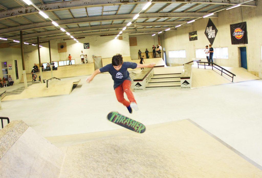 NK Skateboarden voor Junioren op 17 november in Real-X