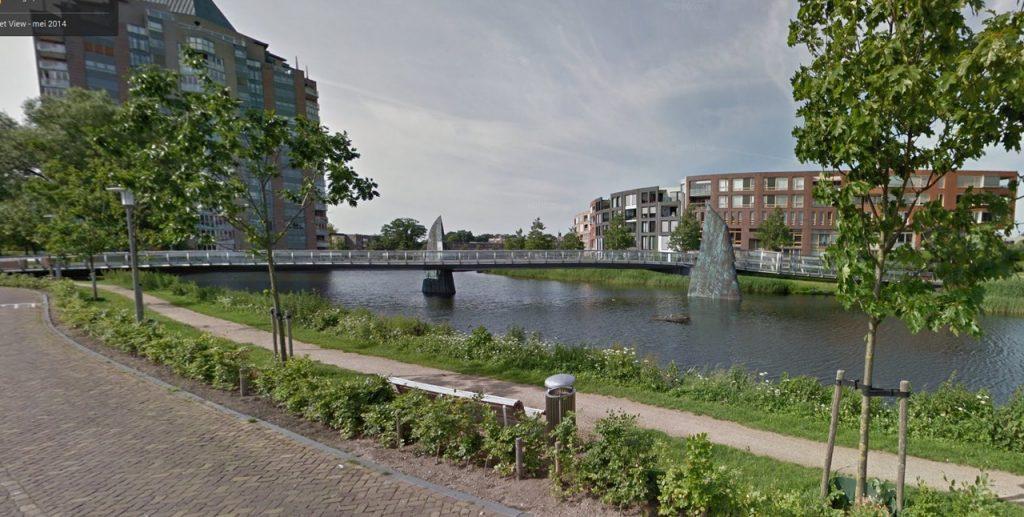 Zijvleugels van fietsbrug De Freule worden verkleind