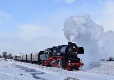 Winterse stoombeleving op de Veluwe
