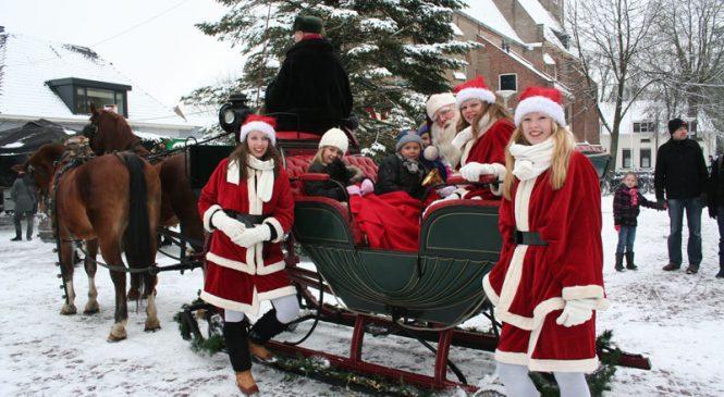 Kerstsfeer op de Eglantier