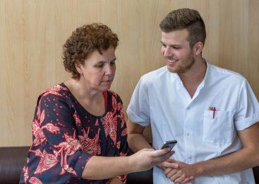 Veilig appen met zorgverleners in Gelre ziekenhuizen
