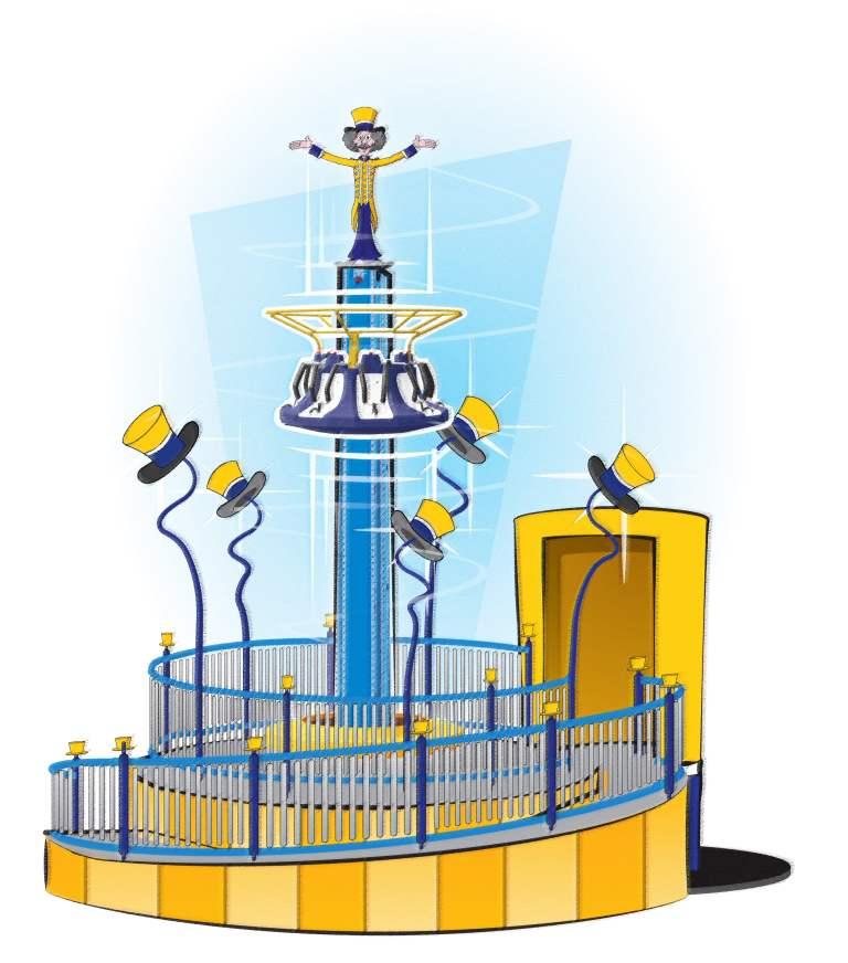 Julianatoren krijgt Freefall