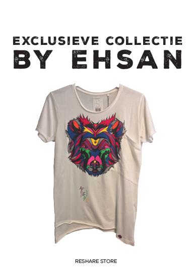 ReShare Store verkoopt exclusieve en kunstzinnige kledingcollectie van Ehsan