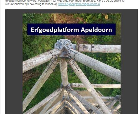 Al 900 abonnees op nieuwsbrief 'Ruimte voor Erfgoed'