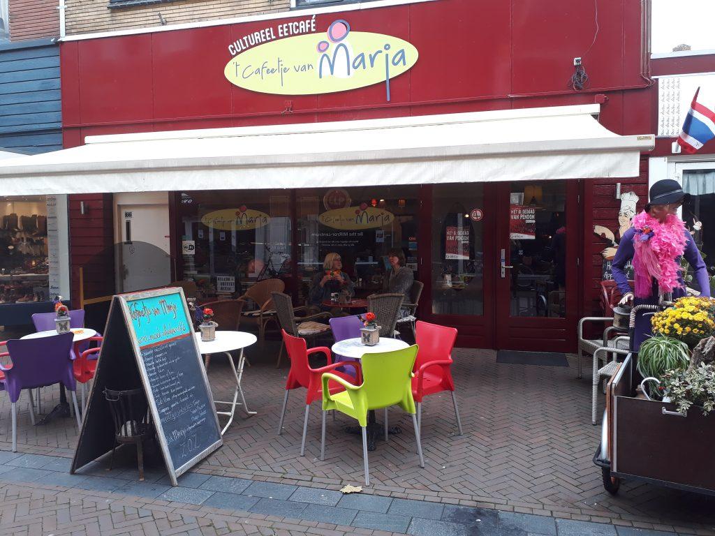 Marja van 't Cafeetje van Marja gaat met pensioen