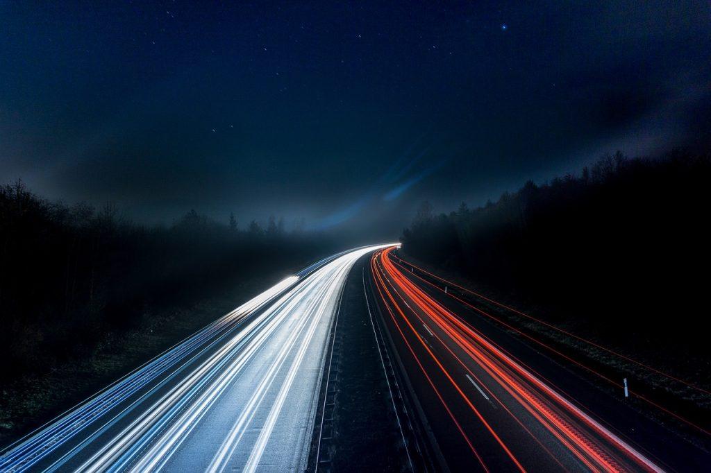 100 kilometer per uur op de A50