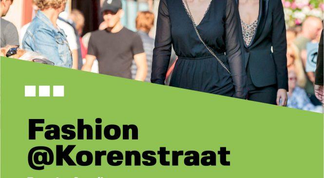 Korenstraat ondernemers pakken uit met mode-event 'Fashion@Korenstraat'