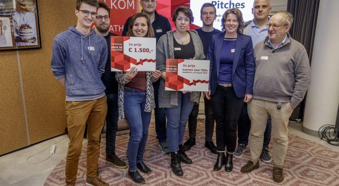 Team 'De Eddys' wint hackathon over aansluiting Apeldoorns onderwijs en arbeidsmarkt