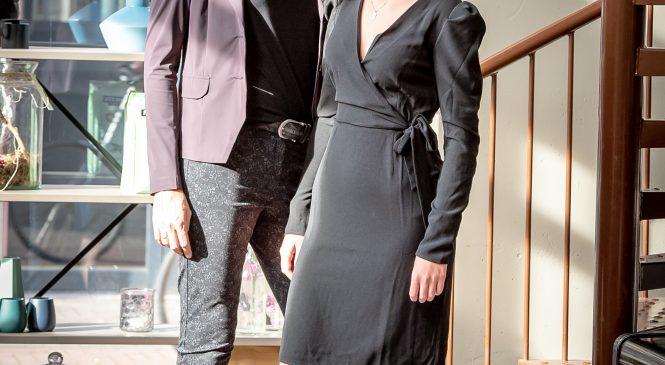 Modeshow voor en door lange mensen