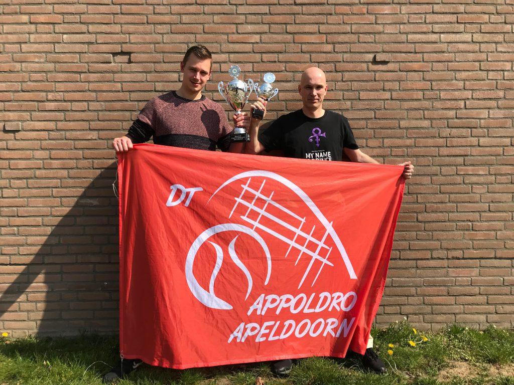 Appoldro 1 kampioen Oost-Gelderland competitie dynamictennis