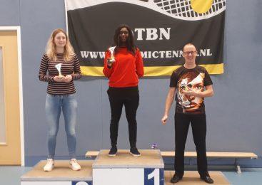 Christelle van Appoldro Nederlands Kampioen!