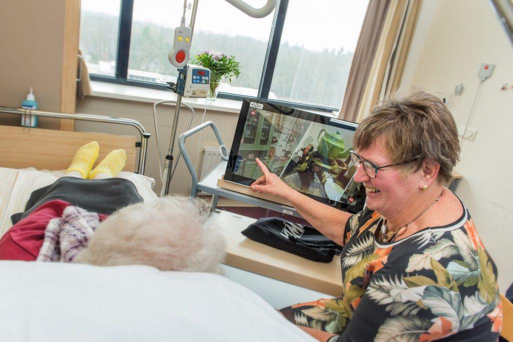 Beleveniskoffer brengt patiënten van Gelre Apeldoorn in beweging
