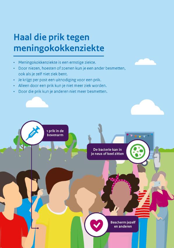 Vaccinatieronde 14- tot 18-jarigen tegen meningokokken van start bij CJG Apeldoorn!