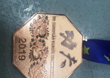 Laura Bonthuis wint Brons op Vechtsport EK 2019 in Moskou