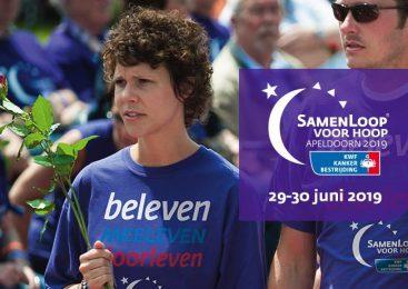 Eerste SamenLoop voor Hoop in Apeldoorn gaat van start!