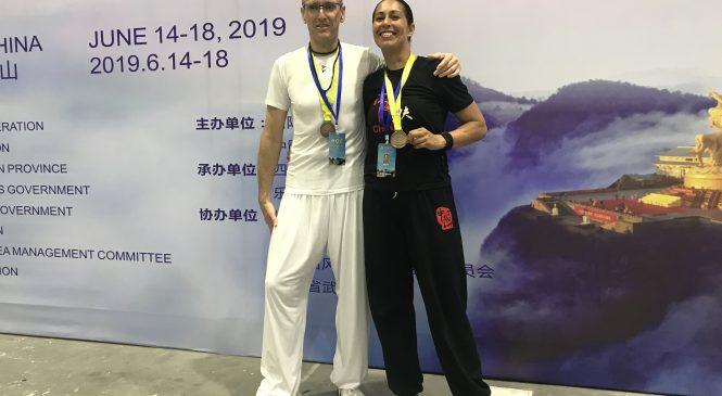 Apeldoornse atleten winnen Brons op WK vechtsport in China