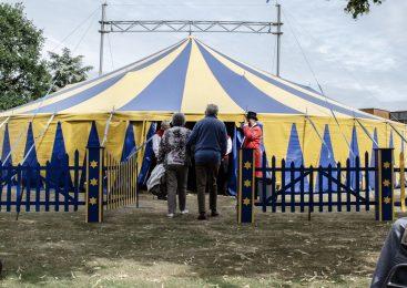 Cliënten Zorggroep Apeldoorn genieten van Circus in de zorg