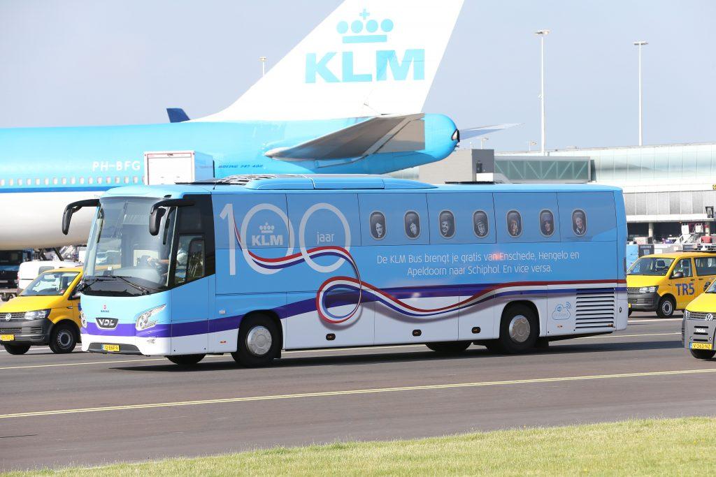 Van Apeldoorn naar Rio de Janeiro met de KLM Bus