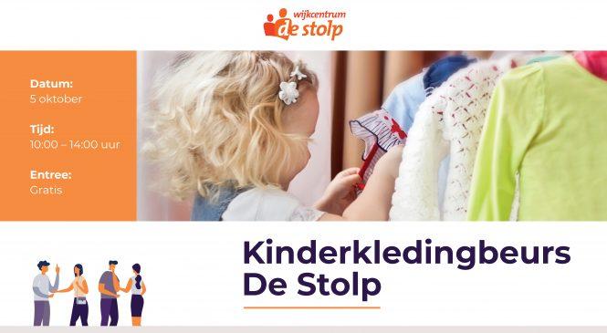 Kinderkledingbeurs in De Stolp op 5 oktober