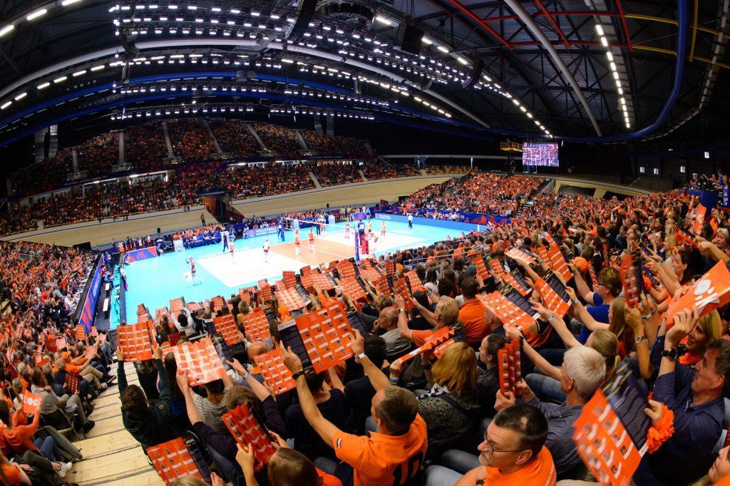 Olympisch kwalificatietoernooi volleybalsters in Apeldoorn!
