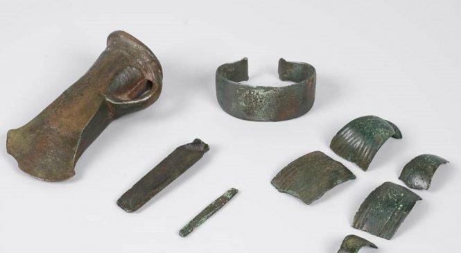 Een prehistorische brons-schat uit Bruggelen