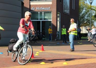 Volop fietsplezier tijdens de Fietsinformatiedag