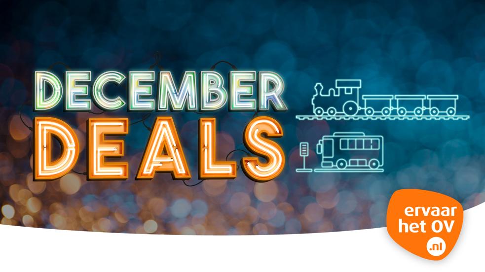 December Deals bij Ervaar het OV