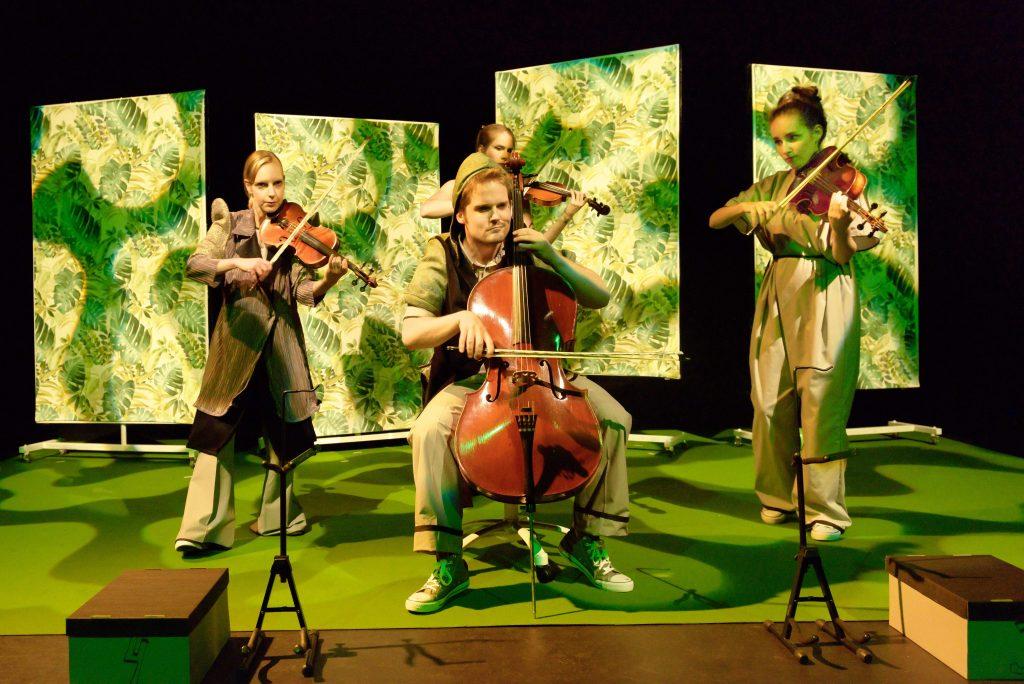 Het Dudok Quartet op tweede Paasdag (13 april) in GIGANT met familieconcert