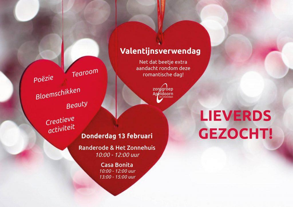 Zorggroep Apeldoorn doet oproep: LIEVERDS GEZOCHT!