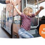 Kinderen reizen gratis met bus en trein van 15 februari tot 31 maart in Oost-Nederland