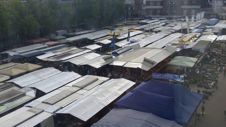 Meer ruimte voor zaterdagmarkt door betrekken Raadhuisplein