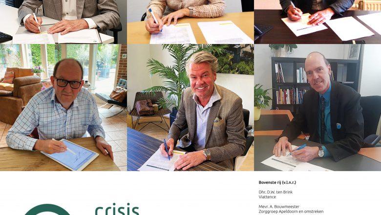 Zeven zorgorganisaties werken regionaal samen aan crisisopname voor ouderen.