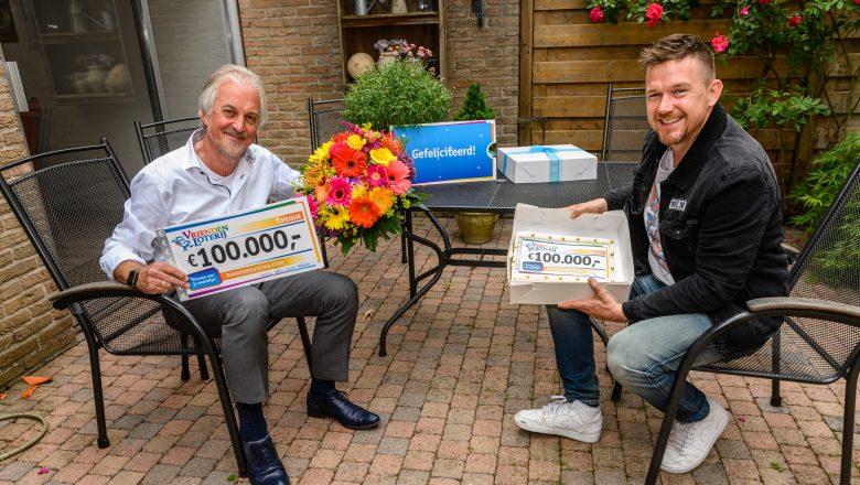 Willem wint € 100.000 in de VriendenLoterij