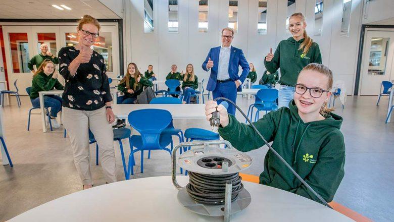 Zonnige scholen gaan energie opwekken in Apeldoorn
