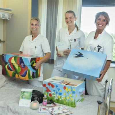 Bijzondere waakkoffers ondersteunen familieleden van patiënten van Gelre ziekenhuizen