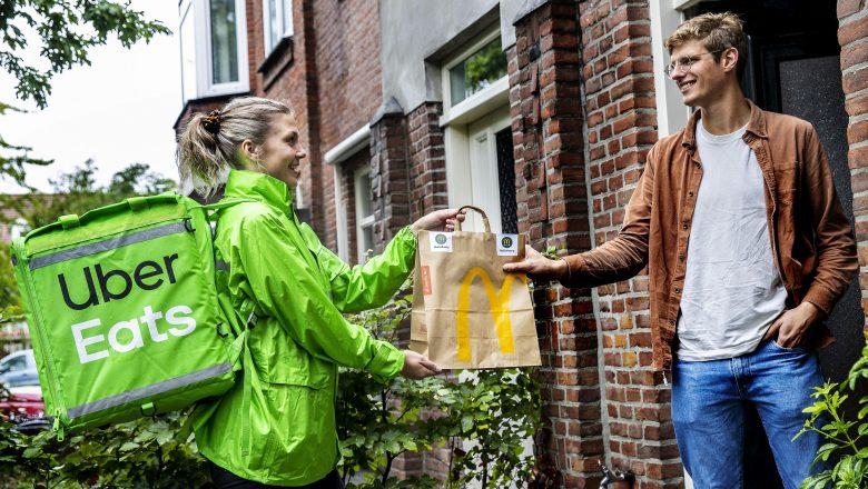 Uber Eats gaat bezorgen voor KFC en McDonald's in Apeldoorn