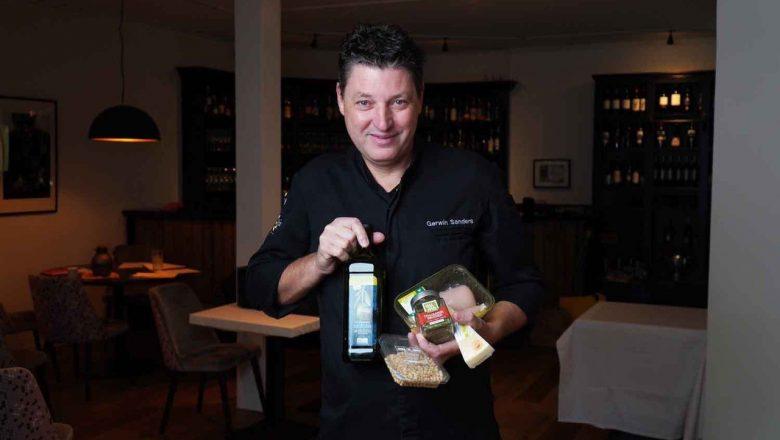 Voedselbank Apeldoorn werkt samen met chef-kok Gerwin Sanders
