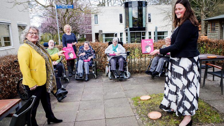 Zorggroep Apeldoorn ontvangt cadeau van jarige Jo Visser fonds
