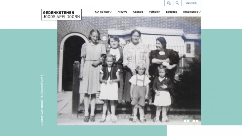 Nieuwe website voor Gedenkstenen Joods Apeldoorn