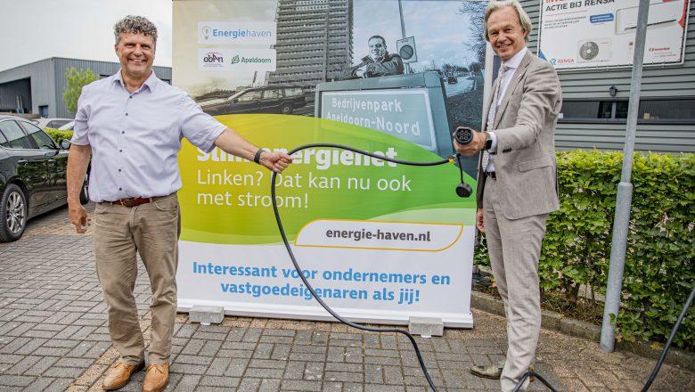Slim energienet op bedrijvenpark Apeldoorn- Noord geopend