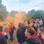 Gemeente deelt opnieuw gebiedsverboden tijdens Oranjefeest rotonde De Maten