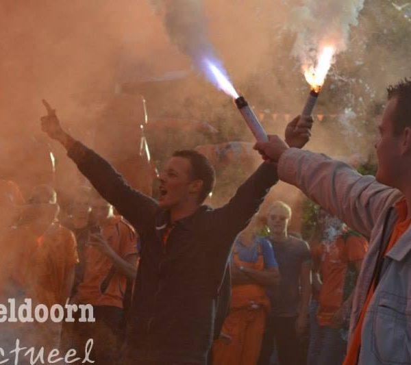 Geen feest meer op Oranjerotonde toegestaan